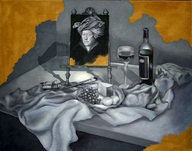 Grisaille first layer for ART OF WINE