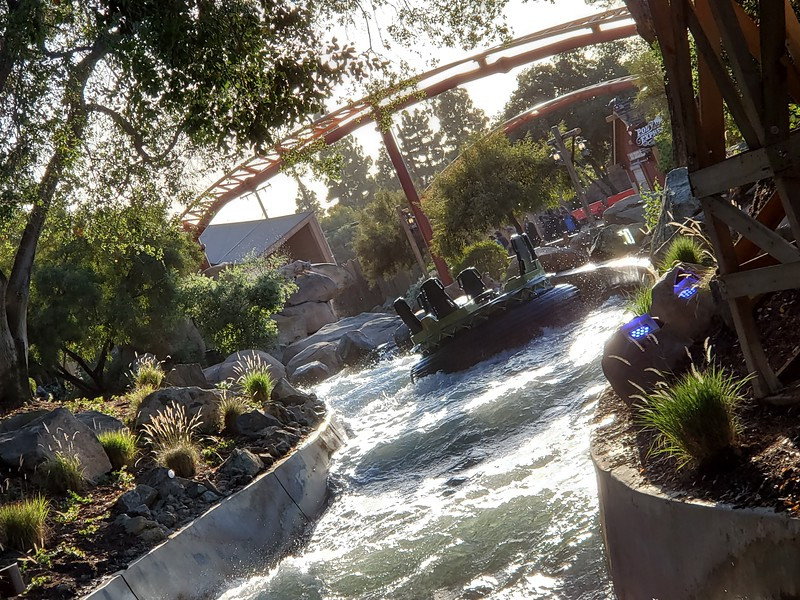 GRAND OPENING: Knott's Berry Farm's CALICO RIVER RAPIDS brings new life to classic water ride
