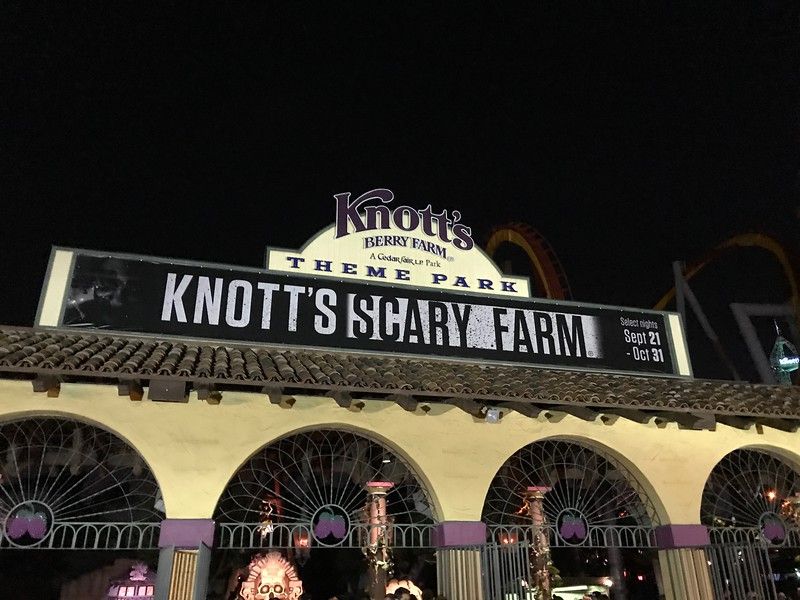 Top 10 screams at KNOTT'S SCARY FARM that you can't miss