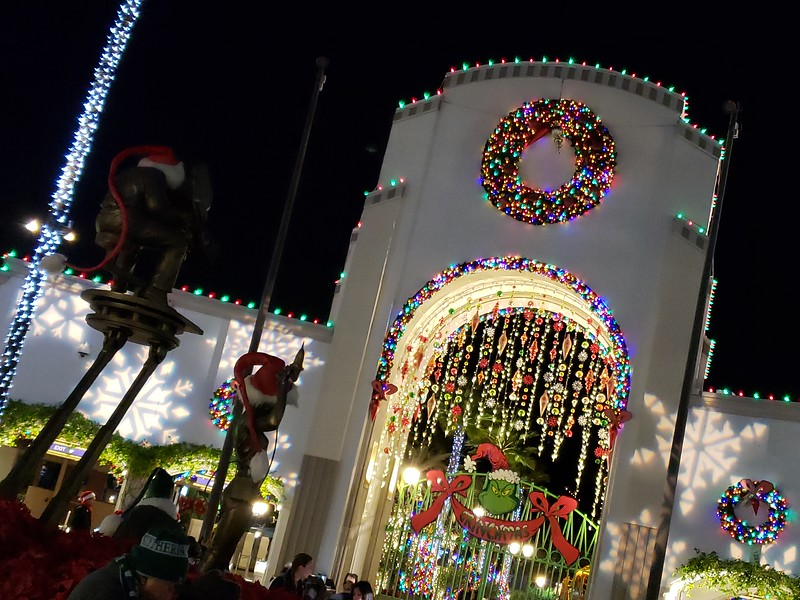 PICTORIAL: The Universal Holidays bring new magic, snowfall to Hollywood
