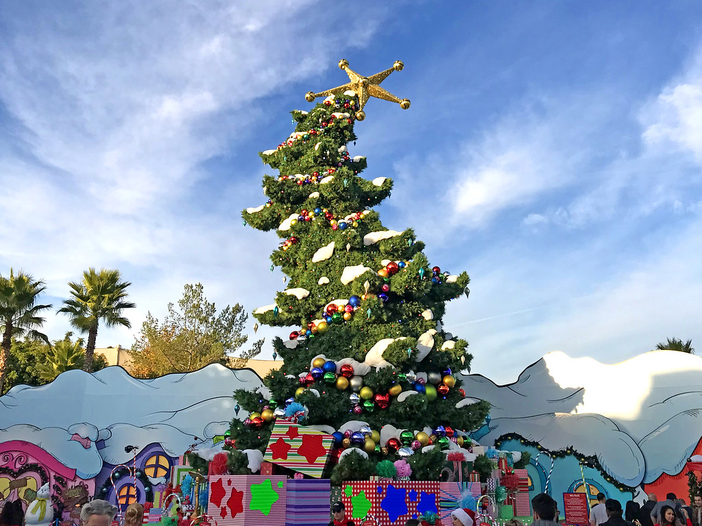 PICTORIAL: A towering new Grinchmas tree joins holiday 2019 offerings at Universal Studios Hollywood