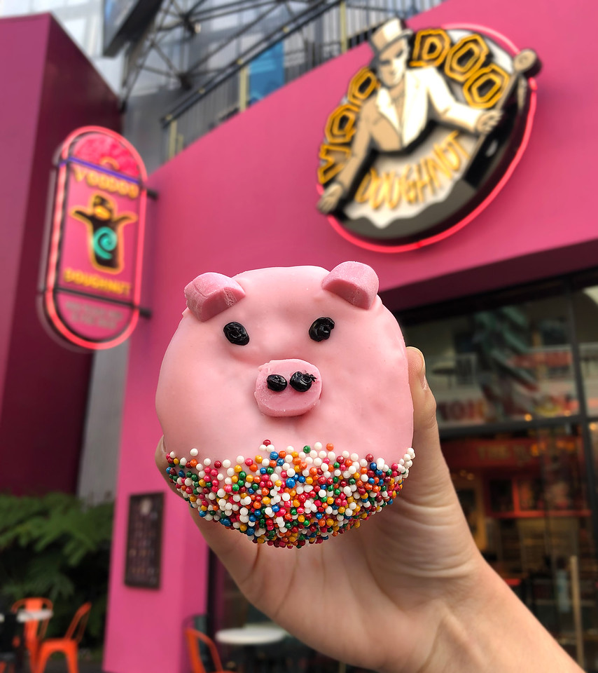 Voodoo Year of the Pig Doughnut 2019