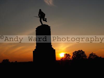Gettysburg Sunsets