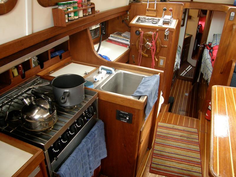 A glimpse below decks