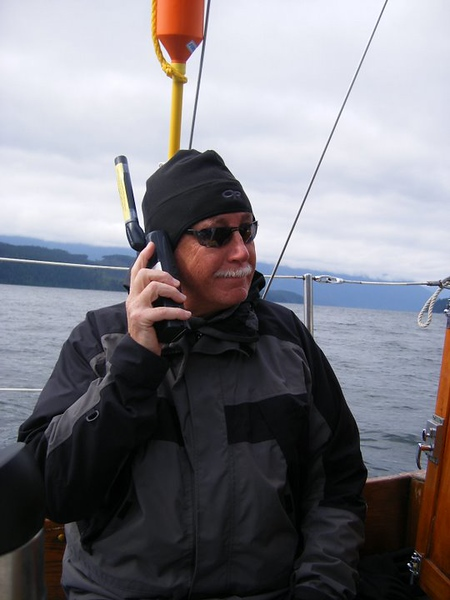 Since my dad was in poor health, I rented a satellite phone.