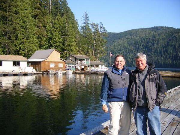 Deep into the British Columbia passage, we came on Cordero logging camp.