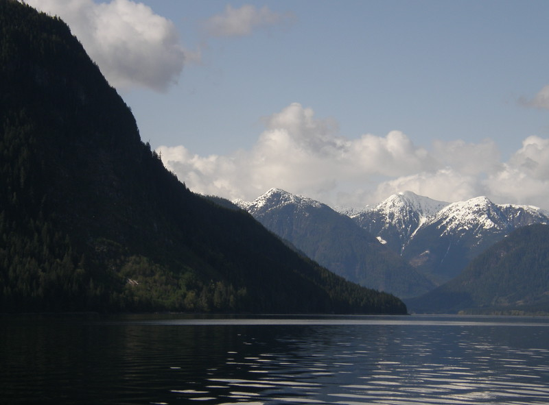 Unlike Colorado, BC snow-capped peaks rise right from sea level. To continue, click #2-