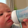 Bottle as teething ring