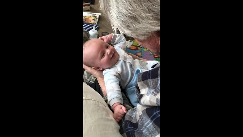 VIDEO- Ben (2 months) & Rex