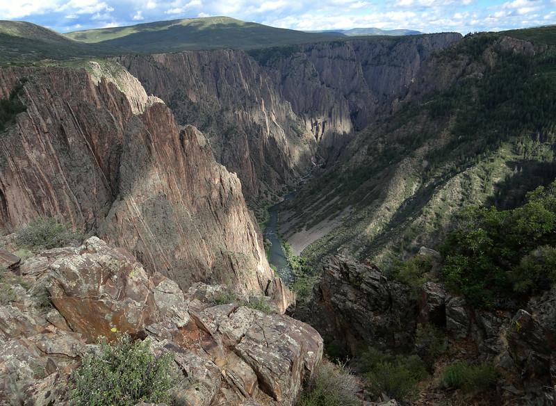 The Gunnison River (below) created 50 miles of this. Why haven't we been here before?!
