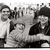 Three boys, Olvera Street, Los Angeles 1976