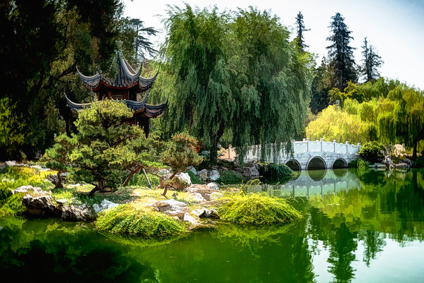Chinese Garden at Huntington Library and Gardens, California