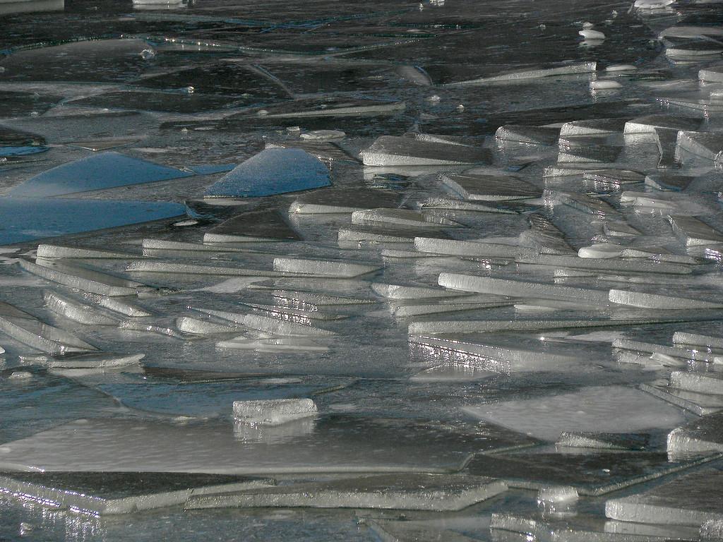 Big Soda Lake ice