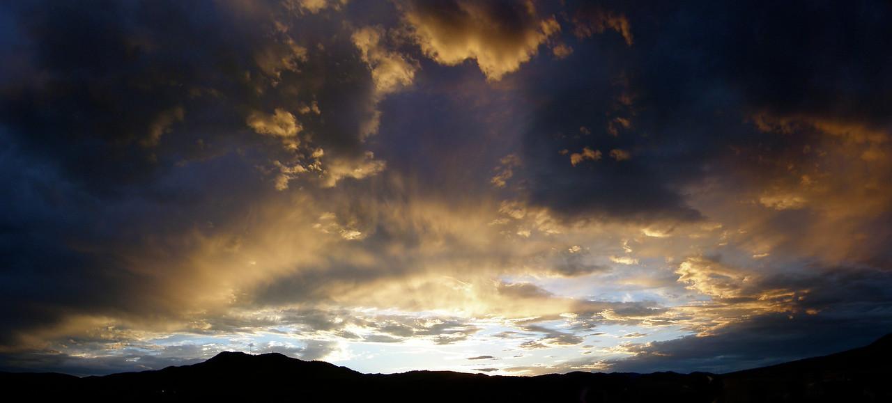 Mount Morrison sunset