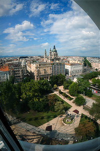 View of Budapest from the Big Eye