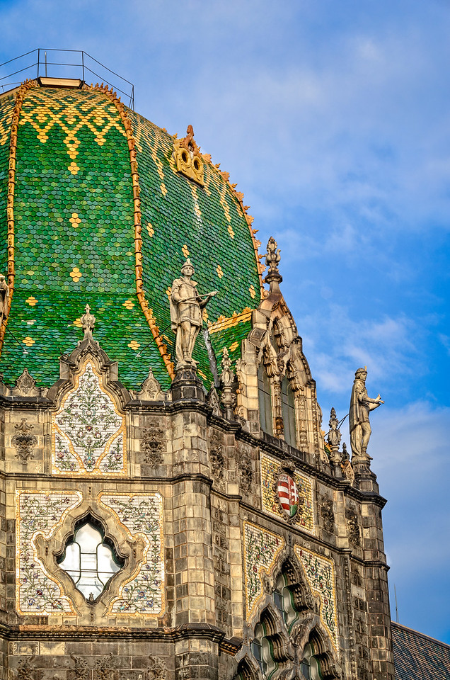 The Dome of the Museum of Applied Arts, Budapest