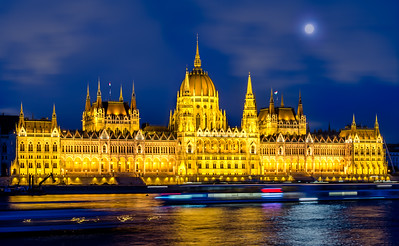 The Hungarian Parliament at Night