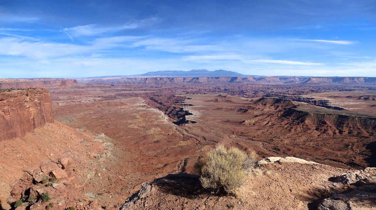 Canyonlands showing how it got its name