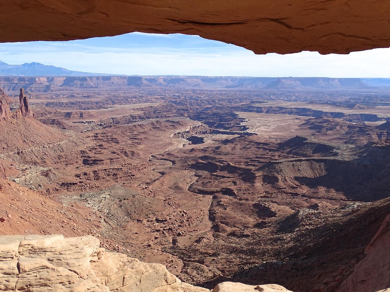 The vista through Mesa Arch