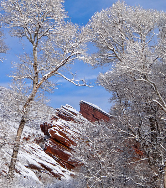 Winter at Red Rocks