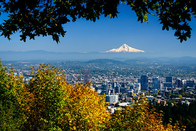 Portland View with Mt. Hood