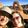 Amy & Shawn at Delicate Arch