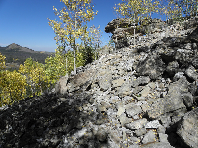 I learned that some of those tools came from the ancient Windy Ridge Quarry near Steamboat Springs, CO. My men's group was kind enough to go there with me.