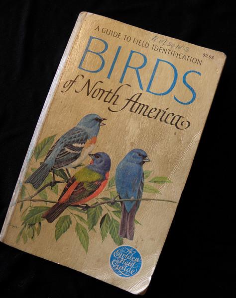 My parents' bird book