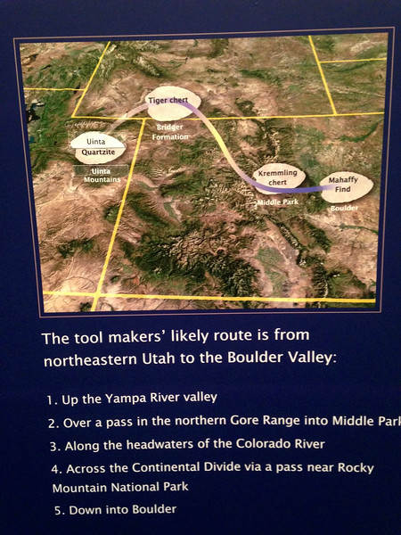 When I read #4 (back at CU), I just knew that they had crossed the Continental Divide using what is today called the Ute Trail.