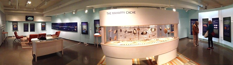 The stunning Mahaffey Cache, over eighty 13,000 year old tools found in Boulder, CO, and now housed at the U of Colorado. Watch the video here- it's a great story:   http://www.colorado.edu/news/releases/2009/02/25/13000-year-old-stone-tool-cache-colorado-shows-evidence-camel-horse