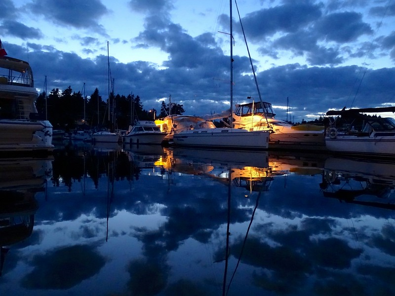 Still waters, San Juan Islands