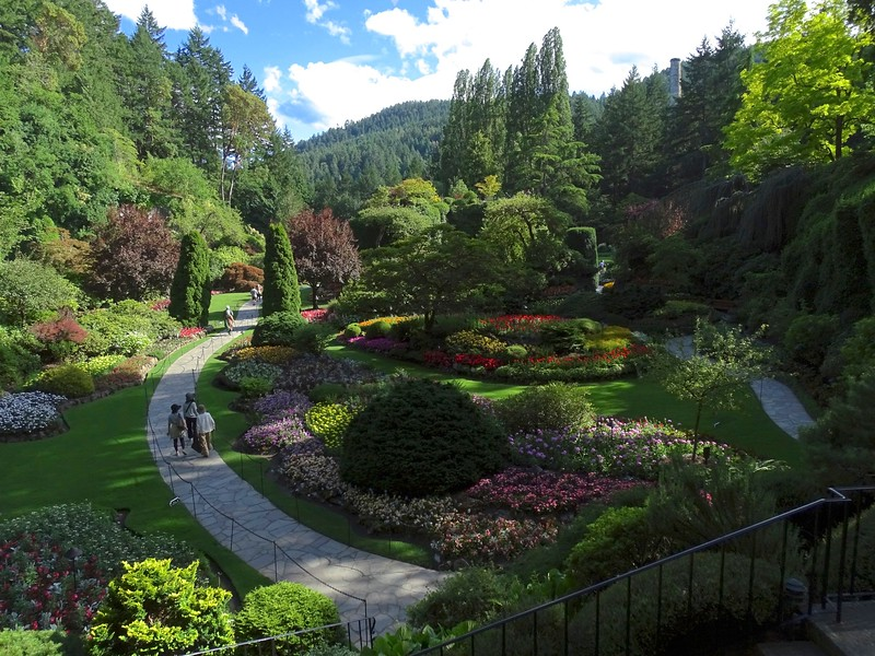 Butchart Gardens, Vancouver, BC