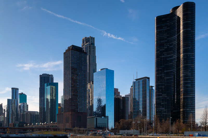 Chicago Cityscape from Chicago River