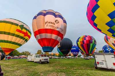 St. Louis Balloon Glow 2012
