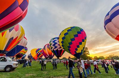 St. Louis Balloon Glow 2012