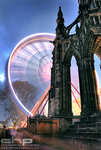 Scott Monument at Christmas 3, Edinburgh, Scotland