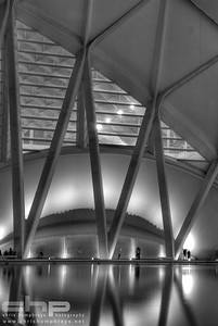 City of Arts and Sciences 8 - Valencia, Spain, Architect Santiago Calatrava