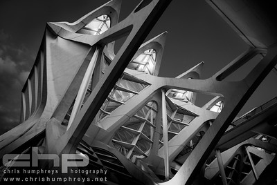 City of Arts and Sciences 6 - Valencia, Spain, Architect Santiago Calatrava