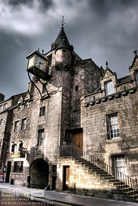Canongate entrance to Old Tolbooth Wynd, Edinburgh