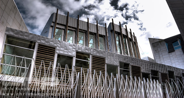 Scottish Parliament 1, Edinburgh, Architect Enric Maralles & RMJM