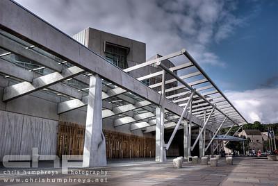 Scottish Parliament 2, Edinburgh, Architect Enric Maralles & RMJM