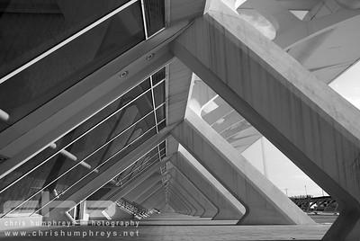 City of Arts and Sciences 5 - Valencia, Spain, Architect Santiago Calatrava