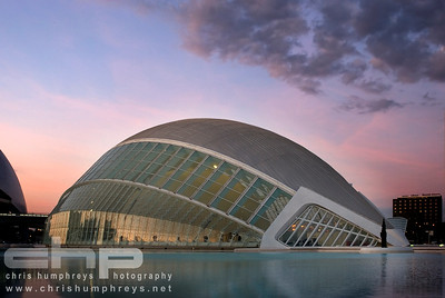 City of Arts and Sciences 7 - Valencia, Spain, Architect Santiago Calatrava