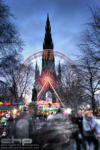 Scott Monument at Christmas 1, Edinburgh, Scotland