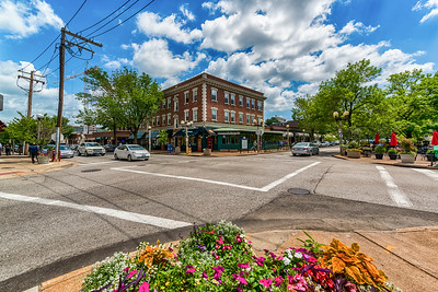 Photographs of the Central West End of St. Louis, Missouri