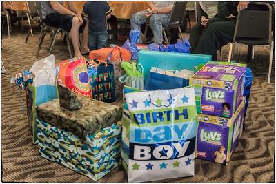 Corbin King's First Birthday Party