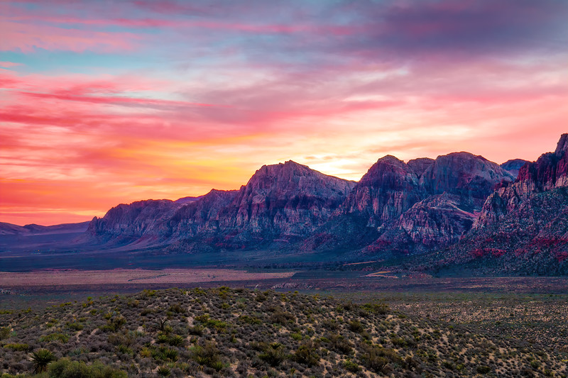 Sunset at Red Rock
