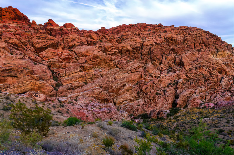 Wall of Red Rock
