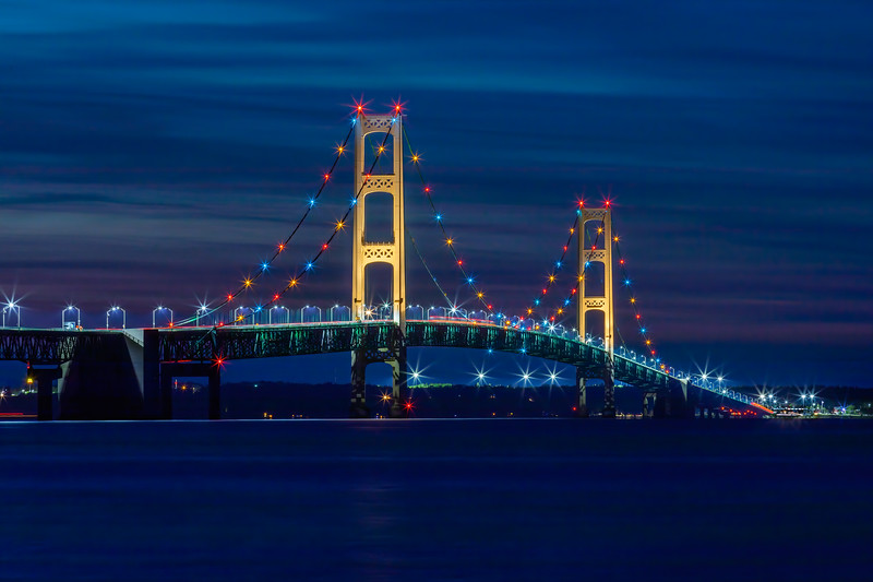 The Mighty Mac From Mackinaw City