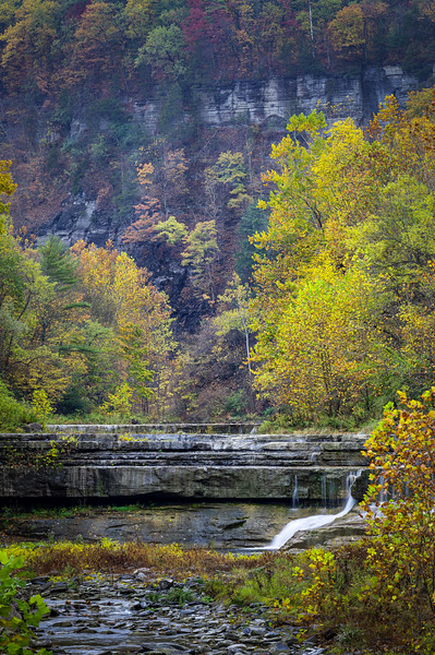 Late Autumn at Lower Taughannock Falls